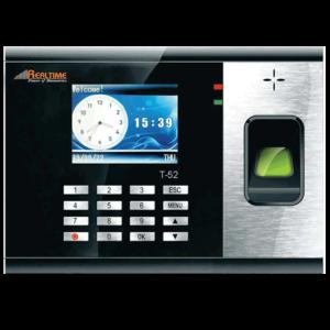fingerprint time attendance machine Realtime t-52