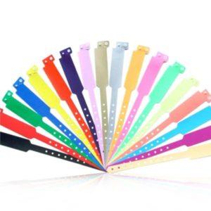 Plastic Dial RFID Wristband IDTech Silicon