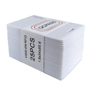 RFID 25 Cards