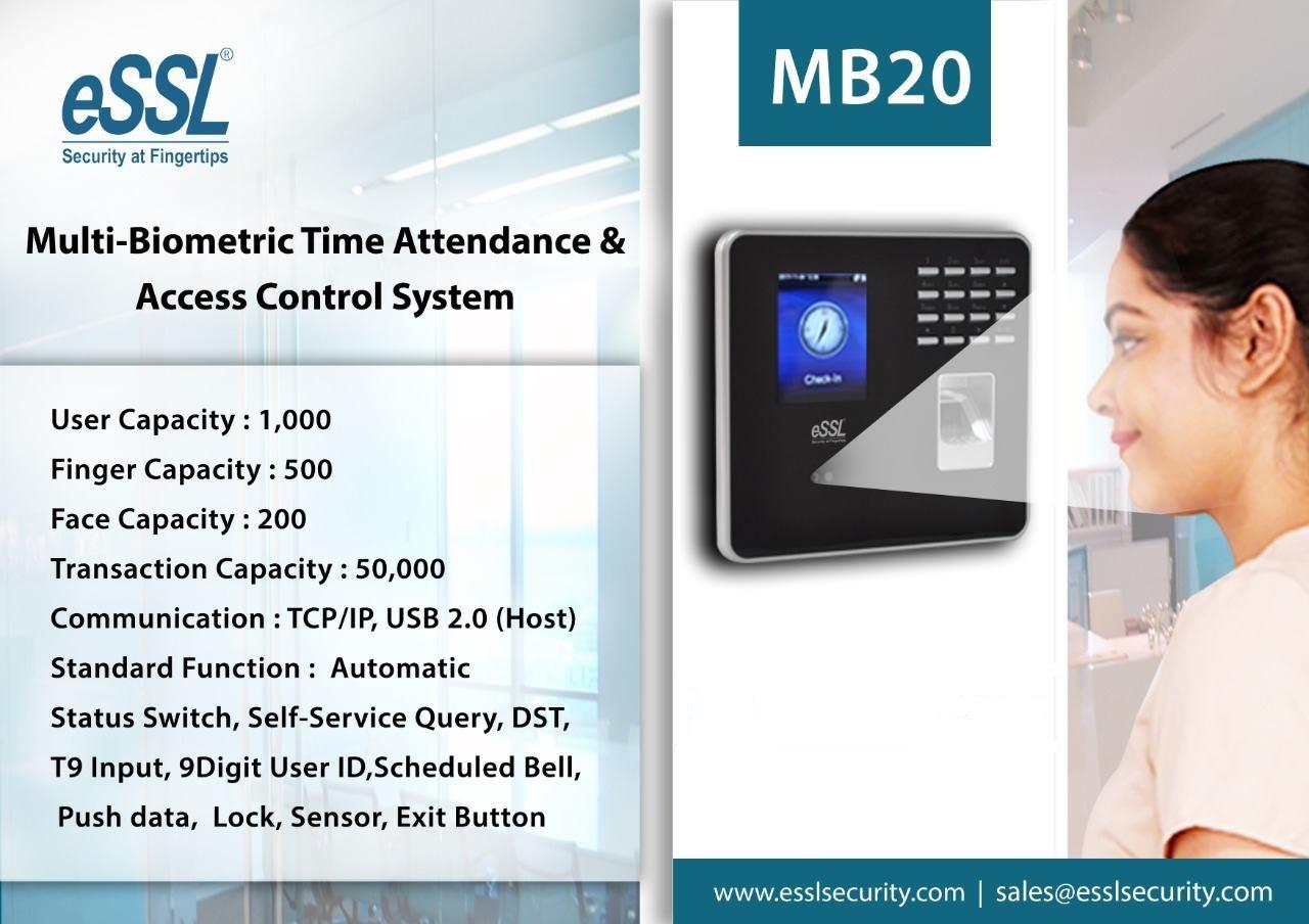 eSSL MB20 5