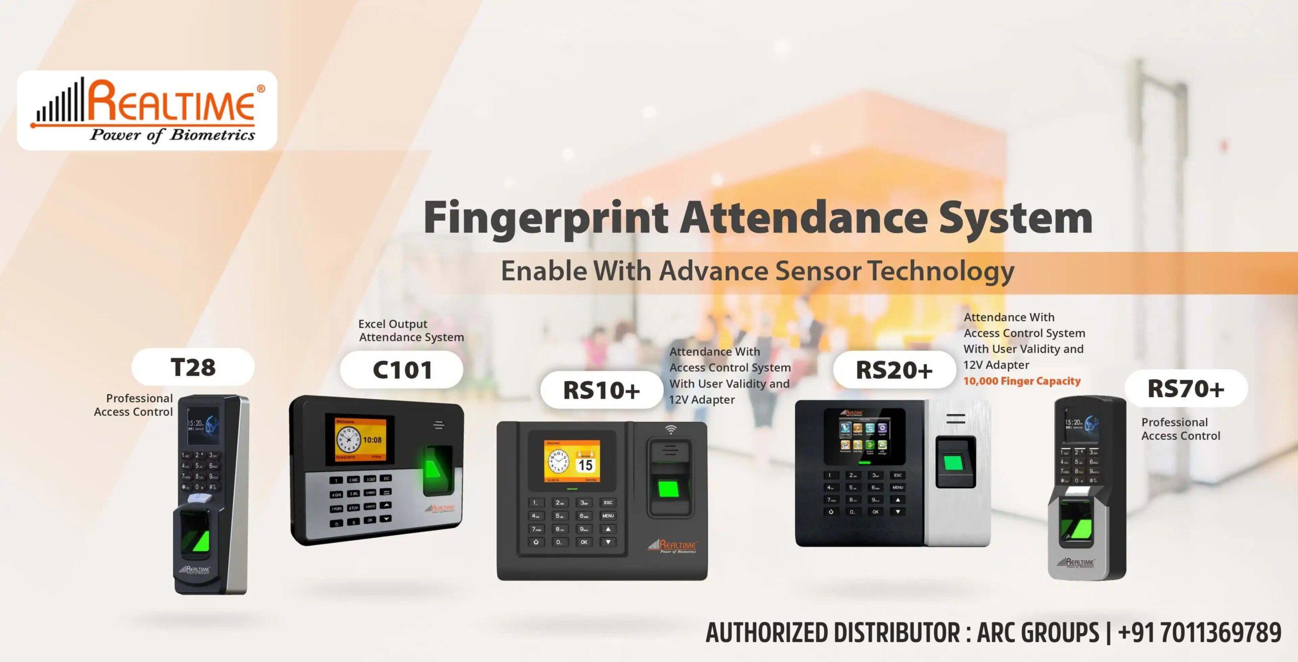 Realtime Best Fingerprint Attendance System