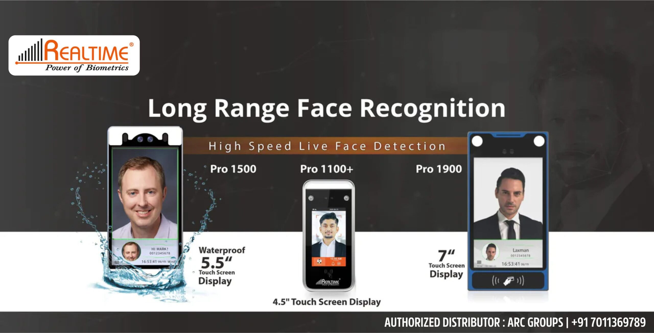 Realtime Long Range Face Recognition Attendance cum Access Control System