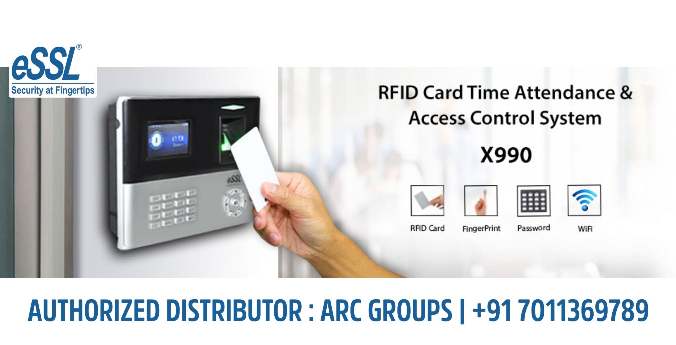eSSL X990 RFID Card Time Attendance System