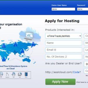 eTimetracklite Software Cloud Version 1